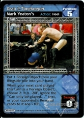 Grab WWE Timekeeper Mark Yeaton's Chair