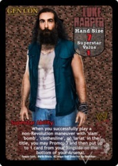 Luke Harper Superstar Card (PROMO)
