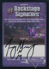 WWE Backstage Signature - Joey Mercury