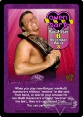 Owen Hart Superstar Card - VSS