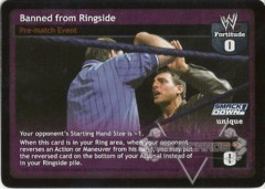 Banned from Ringside