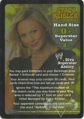 Stacy Keibler Superstar Card - SS3