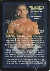 The Ultimate Survivor Superstar Card