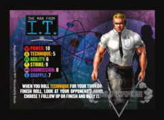 The Man From I.T. Competitor Card