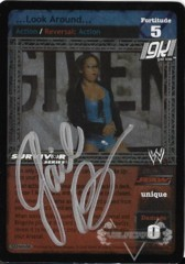 ...Look Around... - SS3 - Signed by Gail Kim