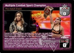 Multiple Combat Sport Champion
