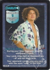 Carlito Superstar Card (PROMO)