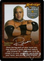 Rikishi Superstar Card - SS2