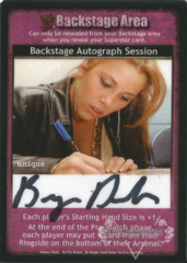 Backstage Autograph Session - Bryan Danielson