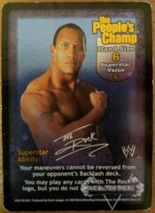The People's Champ Superstar Card (Damaged)