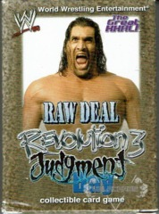 <i>Revolution</i> The Great Khali Starter Deck