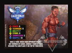 The Obsession Caleb Konley Competitor Card