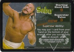 <i>Revolution</i> Sabu Superstar Card