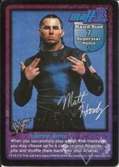 Matt Hardy Superstar Card