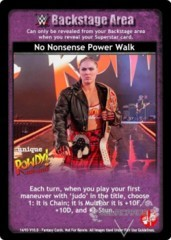 No Nonsense Power Walk