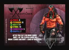 The Xecutioner Competitor Card