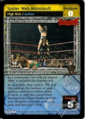 Spider Web Moonsault