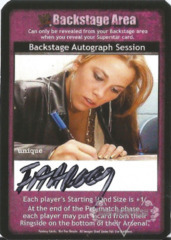 Backstage Autograph Session - Farrooq