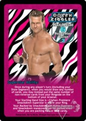 Dolph Ziggler Superstar Card - VSS