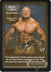 Brock Lesnar Superstar Card