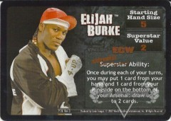 <i>Revolution</i> Elijah Burke Superstar Card