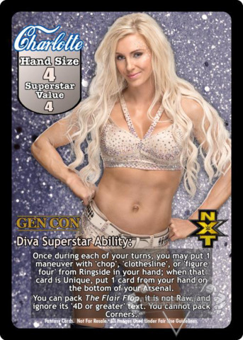 Charlotte Superstar Card (PROMO) (2)