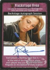 Backstage Autograph Session - X-Pac