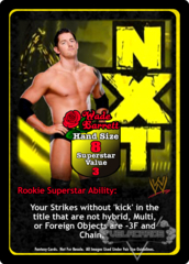 Wade Barrett Superstar Card (Dual-sided)