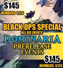 #7  - Dominaria Prerelease Black Ops Special