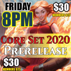 #2 8PM Friday Core 2020