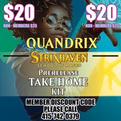 Strixhaven Take Home Prerelease Kit Quandrix