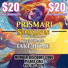 Strixhaven Take Home Prerelease Kit Prismari