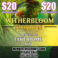 Strixhaven Take Home Prerelease Kit Witherbloom