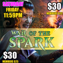 #1 Midnight – War of the Spark Prerelease