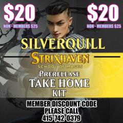 Strixhaven Take Home Prerelease Kit Silverquill