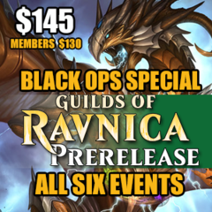 #7 Black Ops Special – Guilds Of Ravinca Prerelease