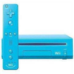 Blue Nintendo Wii System