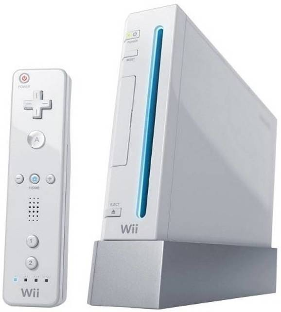 White Nintendo Wii System