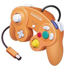 Orange Gamecube Controller
