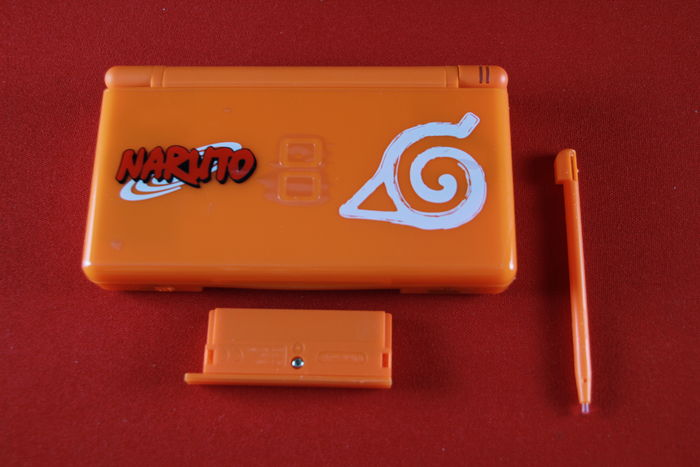 Orange Naruto Nintendo DS Lite Limited Edition System - Nintendo 3DS