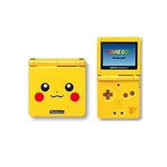 Pikachu Gameboy Advance SP System