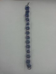 Ringmail Bracelet - Purple and Blue