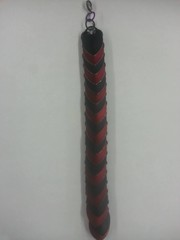 Scale Armor Bracelet - Red and Black