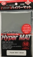 KMC Hyper Mat Silver Sleeves (80Ct)