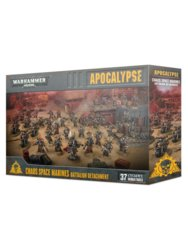 Warhammer 40k: Apocalypse - Chaos Space Marines Battalion Detachment