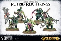 Nurgle Rotbringers: Putrid Blightkings