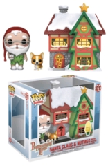 POP! Town Christmas - Santa Claus & Nutmeg with House (01)