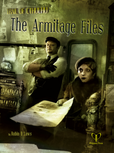 Trail of Cthulhu - The Armitage Files