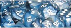 Lustrous 7 Dice set (CHX27490) - Slate / White