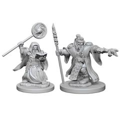 Dungeons And Dragons: Nolzur's Marvelous Unpainted Miniatures - Dwarf Wizard (Male)